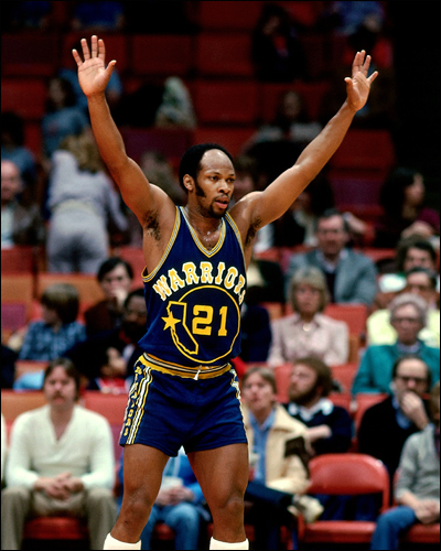 Sadly, the world would later be free of both short shorts and ridiculous facial hair on basketball players.