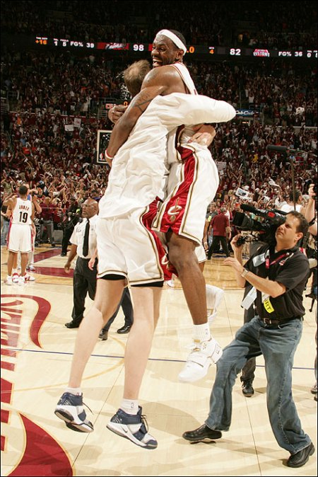 lebron and z